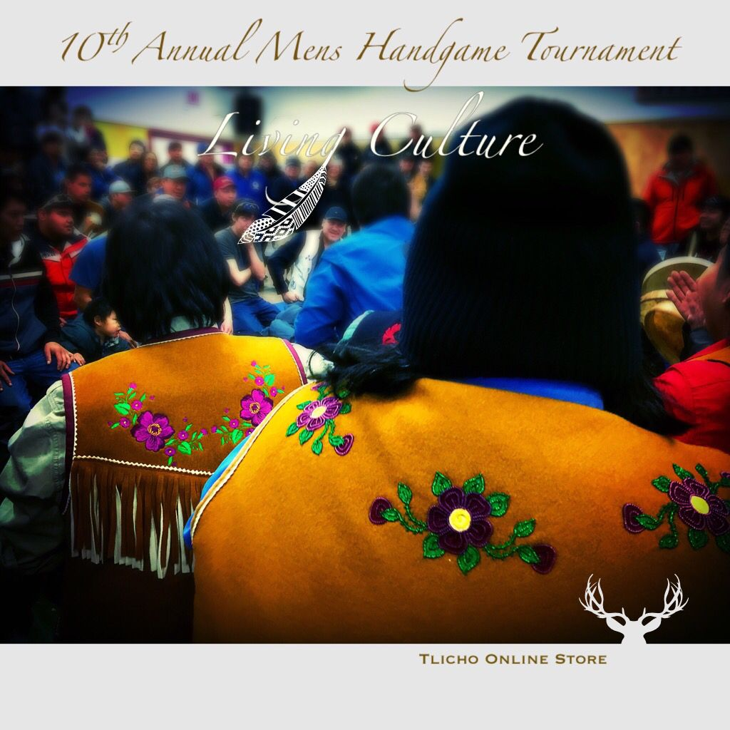 10th Annual Handgame Tournament. #Tlicho #living #culture