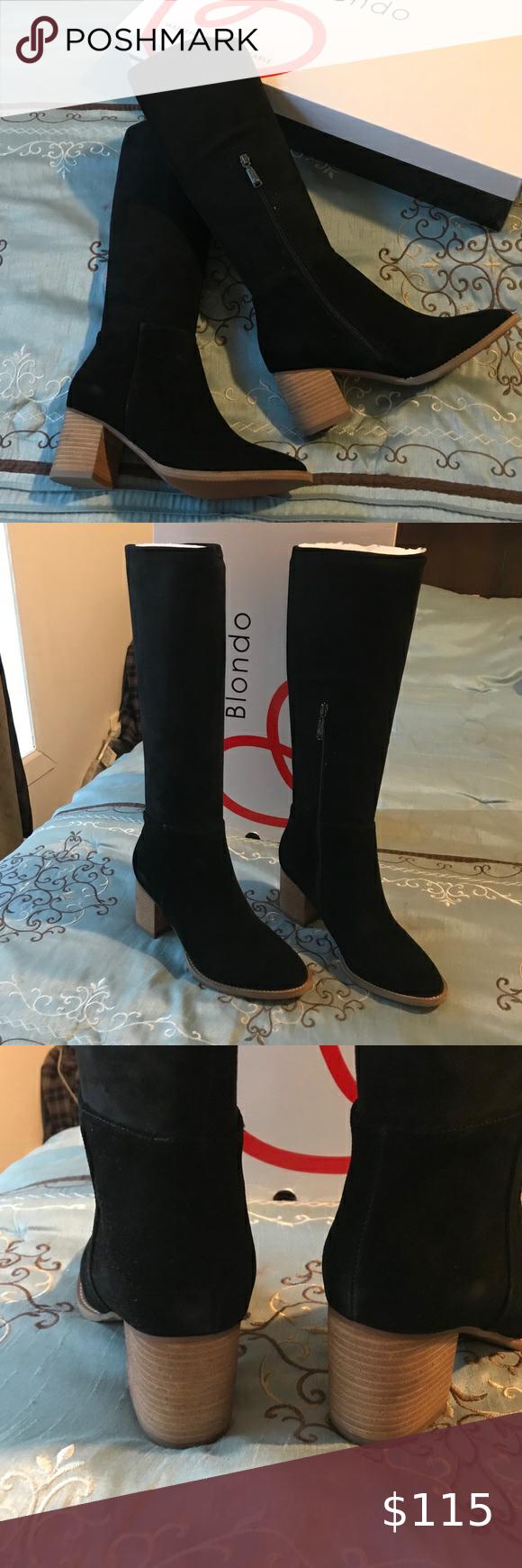 Blondo - Nada Waterproof Knee High Boot