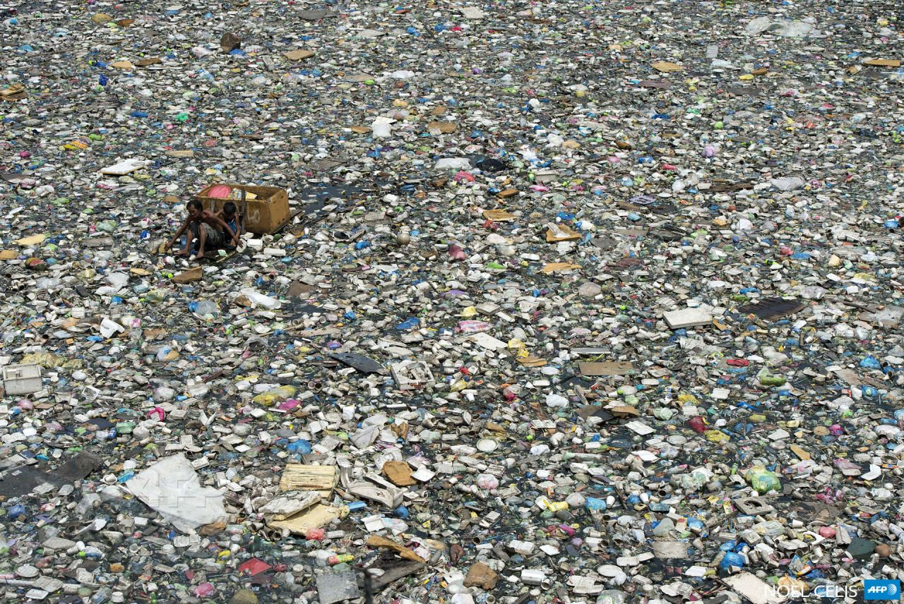 AFP Photo Plastic in the sea, Pollution, Plastic pollution
