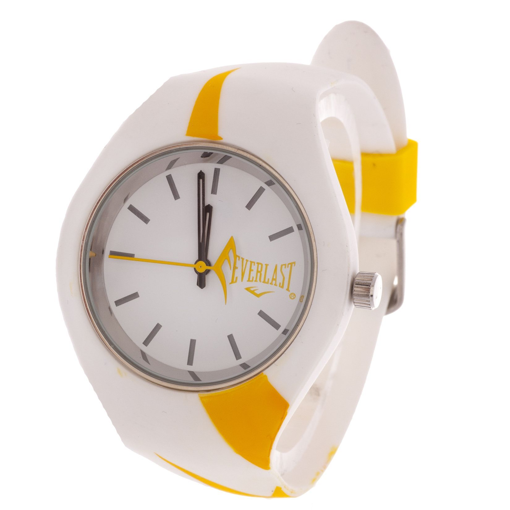 Everlast Slim Yellow Round Sport Analog Watch With Strap