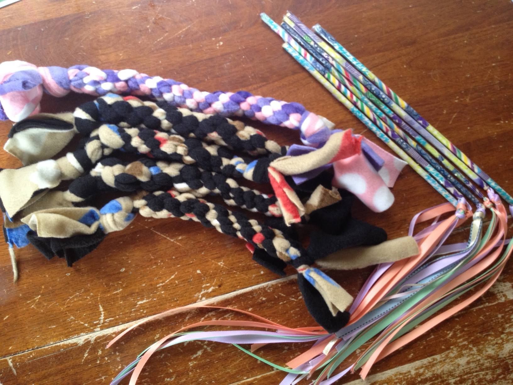 Diy animal toys dog chew toys and cat toys for our local