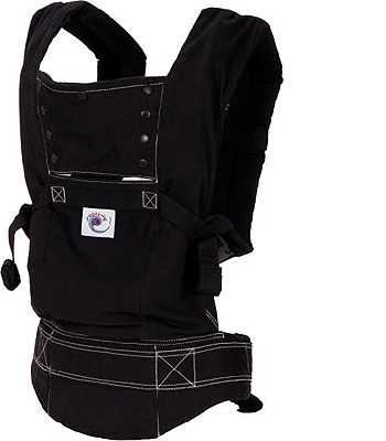 Ergobaby Sport Baby Carrier Black With White Stitching