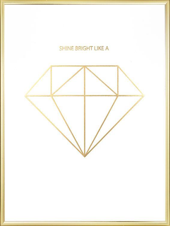 how to make diamonds shine