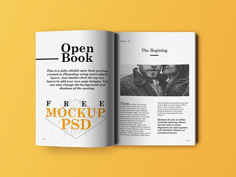 Open Bock Mockup Mockupworld Book Cover Mockup Free Mockup Book Open Book