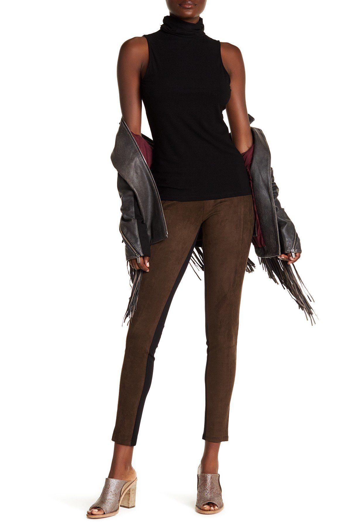 Santa Fe Vegan Leather Leggings Vegan leather leggings