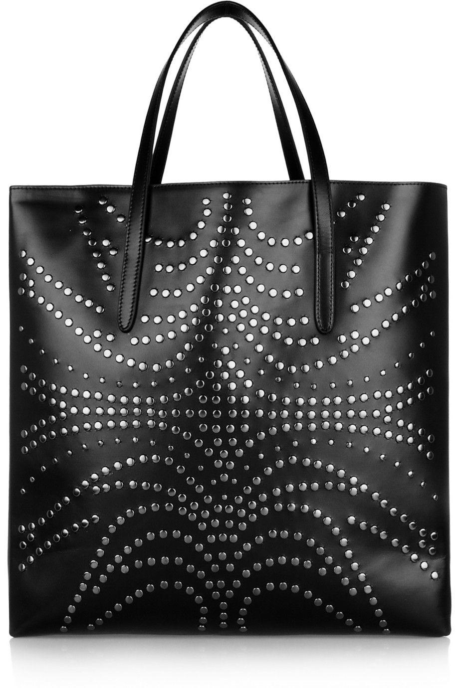 Alaïa - Studded leather tote