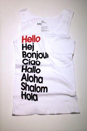 Hello T-Shirt & Tank
