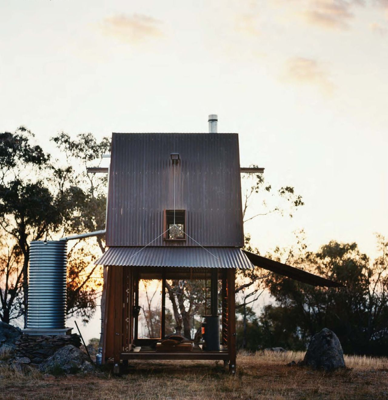 Nice Mudgee Is One Manu0027s Retreat, A Permanent Campsite, In Western New South  Wales, Australia. From Vogue Living May/June Casey Brown Architecture, ...
