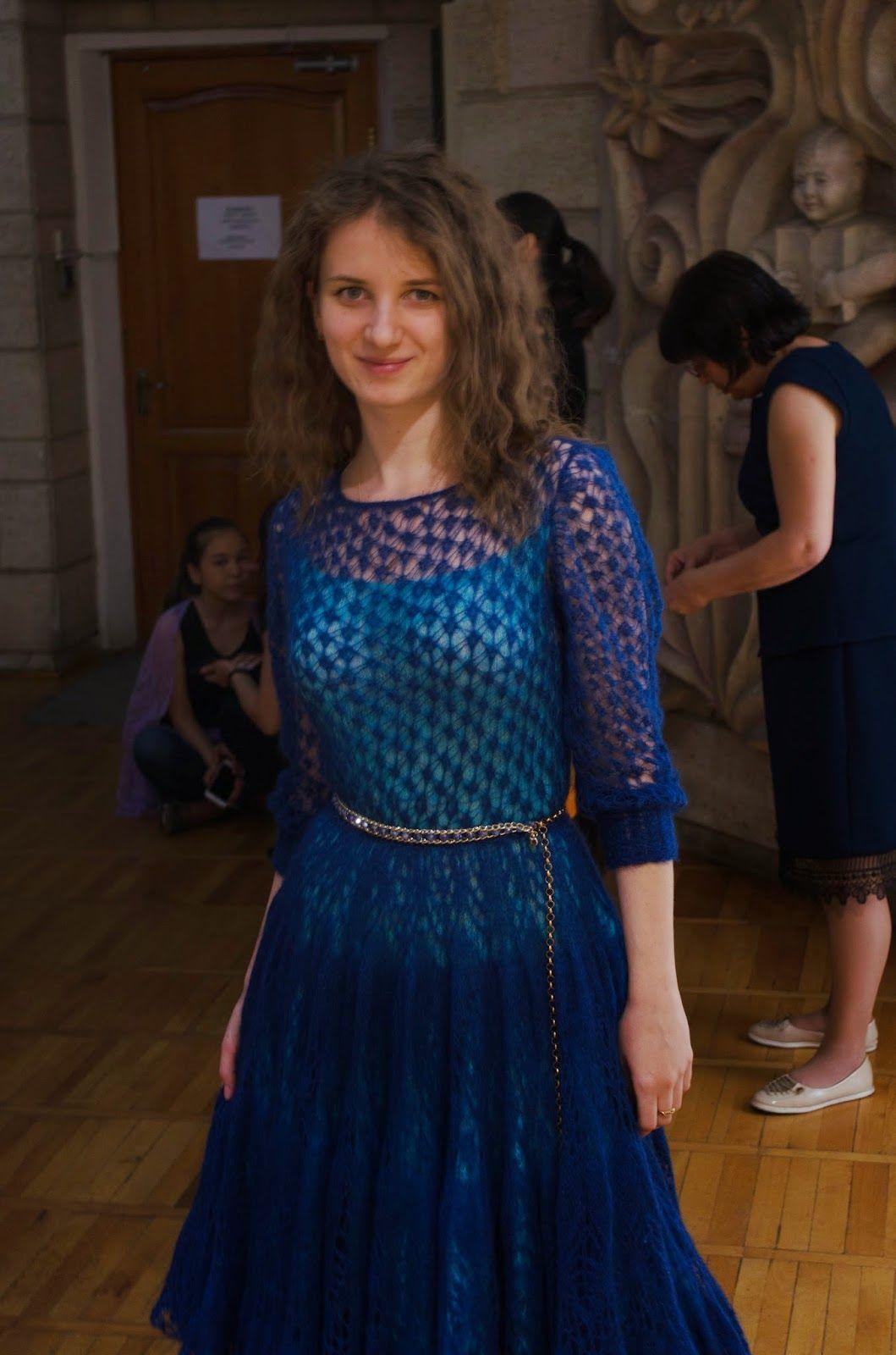 Платье из мохера спицами схема фото 984