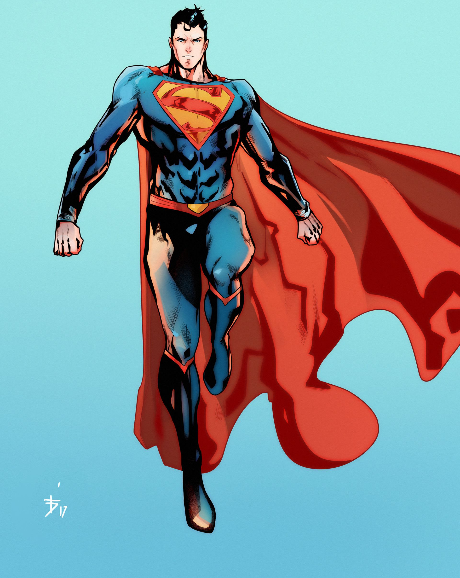 Картинки супермен из комиксов