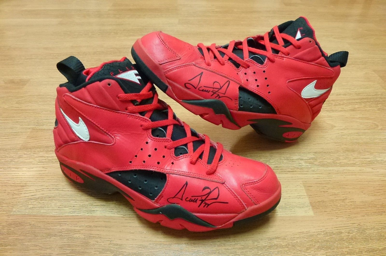 Scottie Pippen's All-Star Red Nike Air