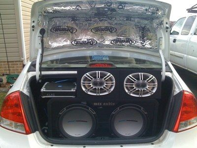 Andrew M S 2007 Kia Spectra Car Audio Kia Custom Car Audio