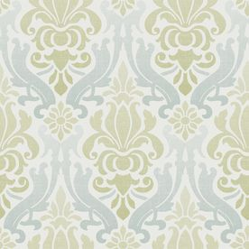 Wallpops 30 Sq Ft Green Vinyl Geometric Peel And Stick Wallpaper Lowes Com In 2021 Damask Wallpaper Brewster Wallcovering Wallpaper Stores
