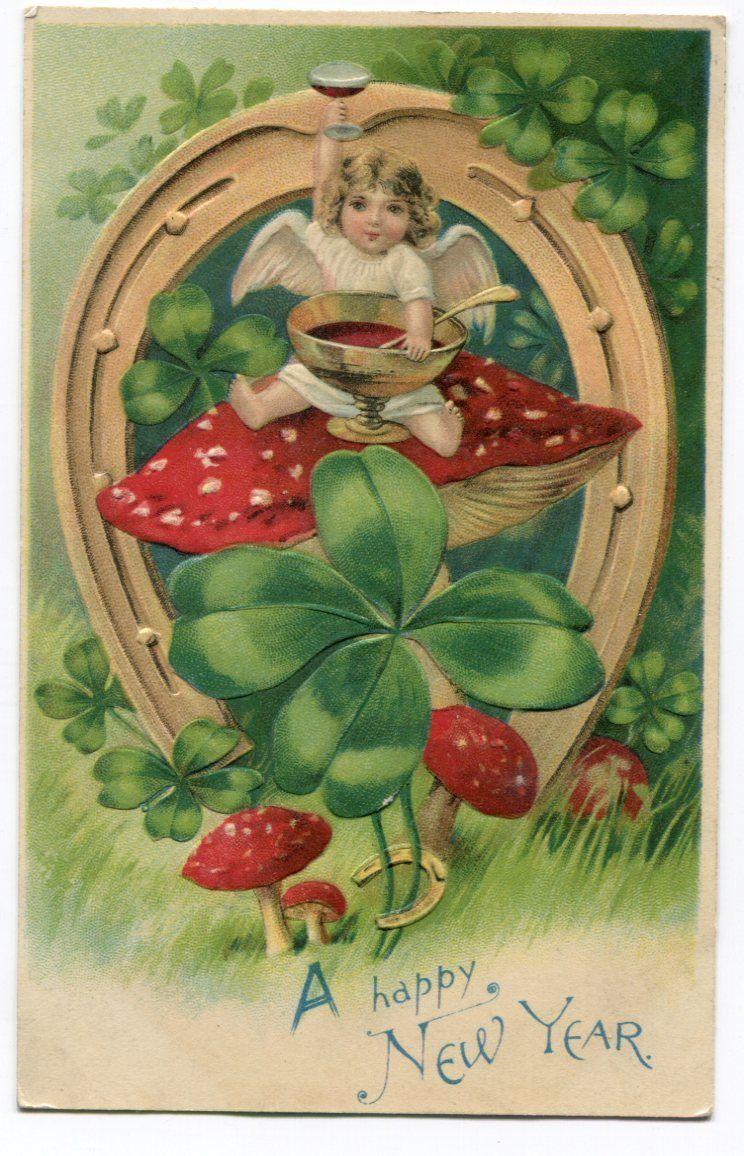 Картинки сестре, грибы старинные открытки