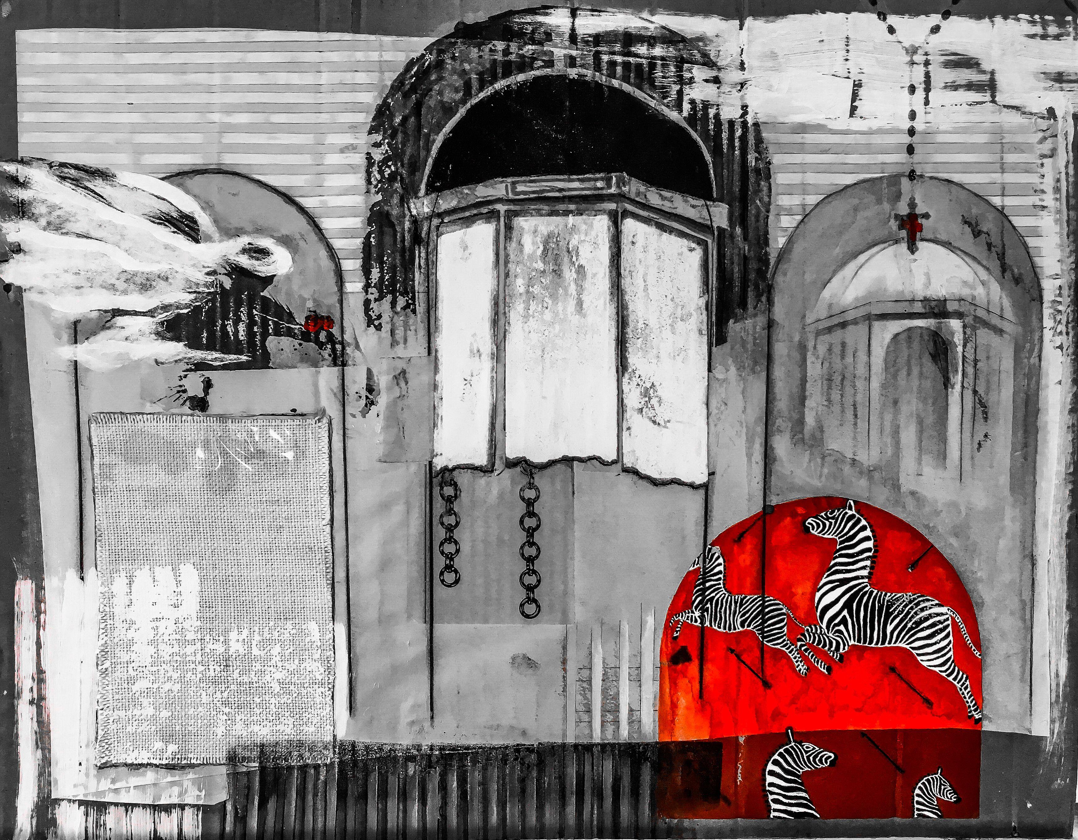 St agnes de scalamandre by carolyn a beegan artwork mixedmedia