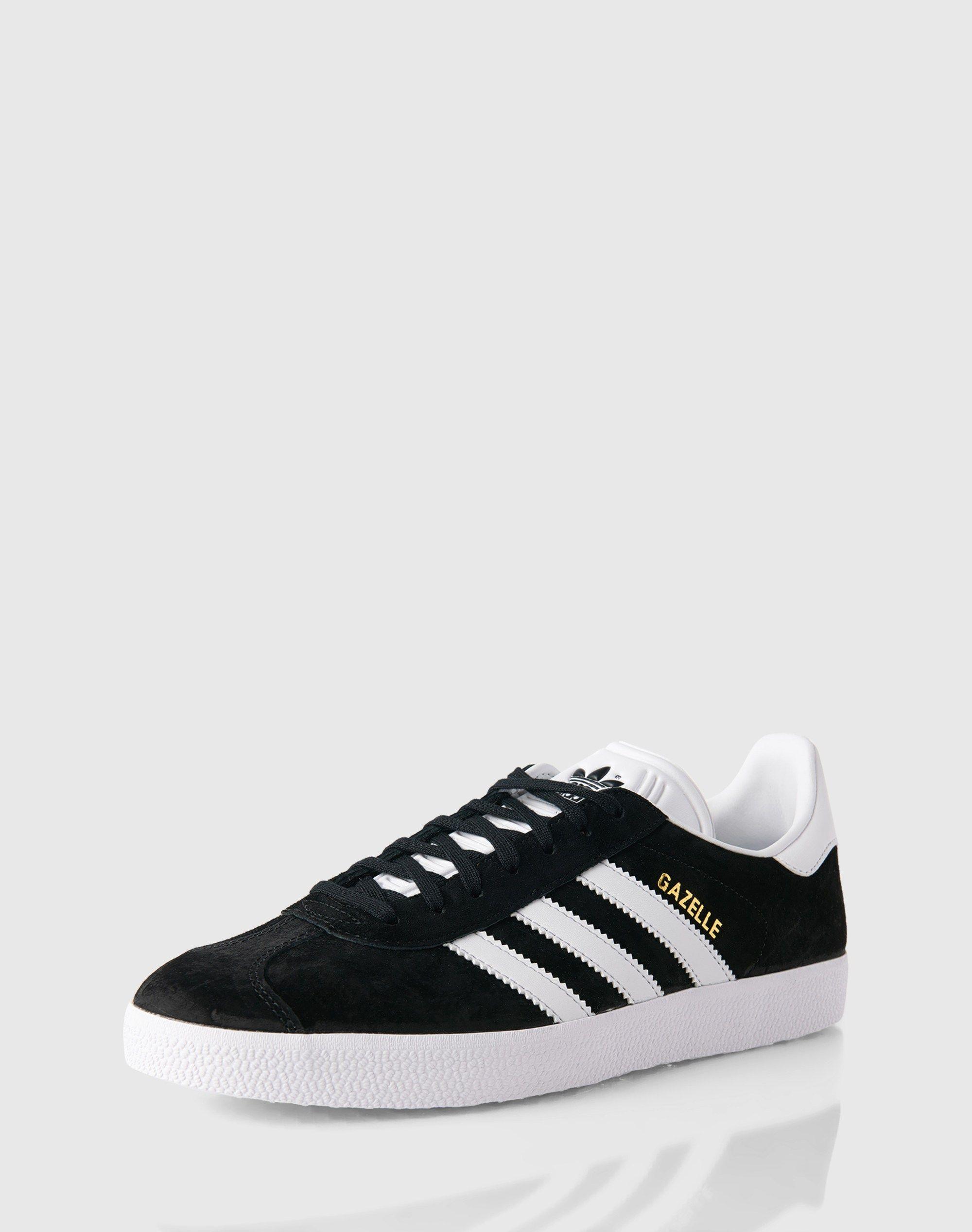 4ba03fcfc1e770 Damen ADIDAS ORIGINALS Sneaker GAZELLE schwarz weiß
