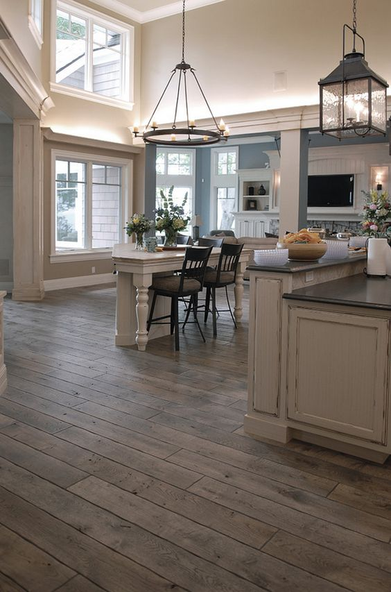 Everything You Need To Know About Kitchen Flooring Trends In 2018 The Kitchen Company Rustic Wood Floors Hardwood Floor Colors Oak Hardwood Flooring
