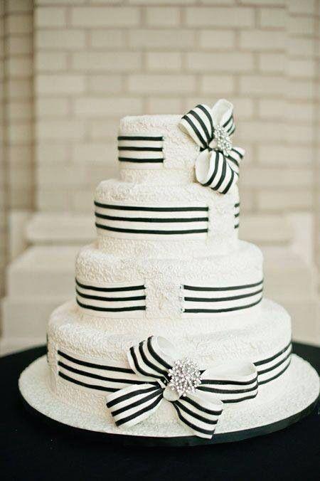 Black White Hat Style Wedding Cakes Pinterest White Wedding