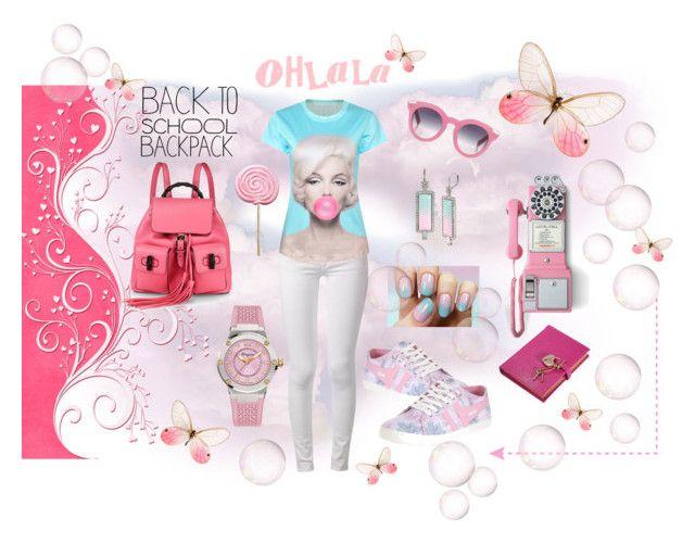 """Oh La La ♥ My Backpack"" by hbbrat on Polyvore"