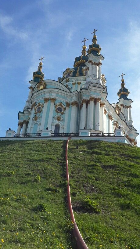 St. Andrew's church Kiev, today 04.05.2015