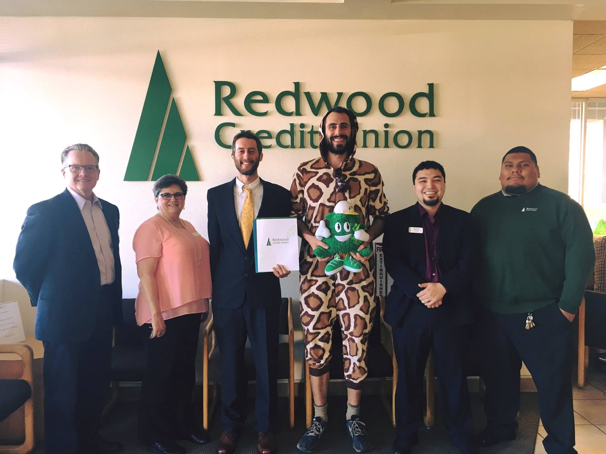 Its official were banking local with redwood credit