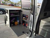 Diy Camper Van Inside Door Cabinet For Econoline E350