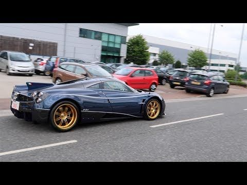 Supercars In London Huayra Agera Rs Zonda F Tdf S