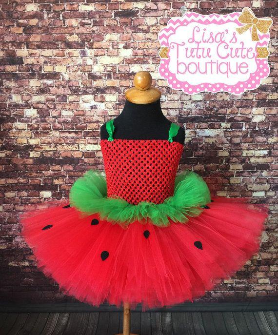 Strawberry tutu dress. Strawberry tutu. Pageant by LisasTutus