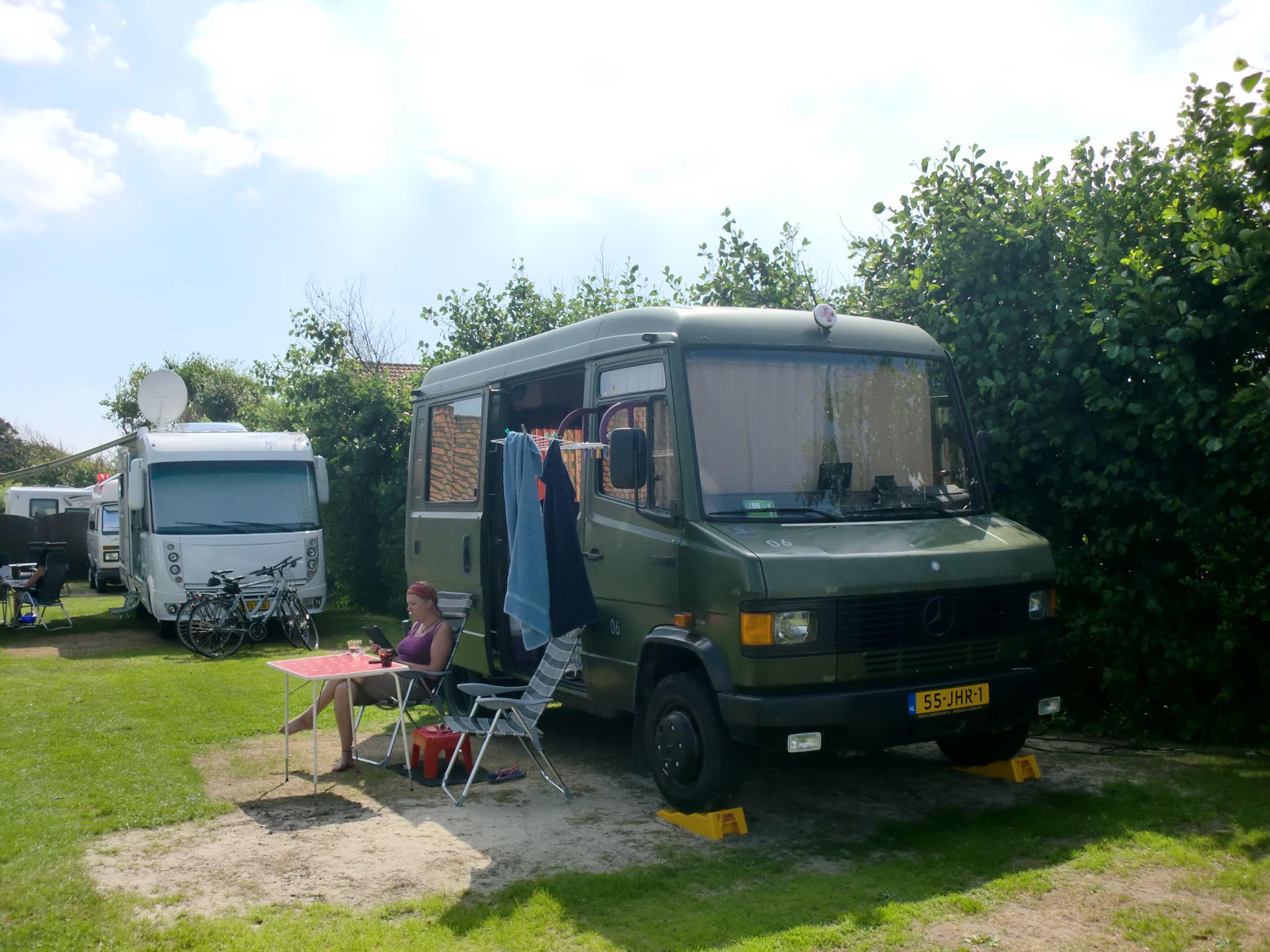 On vacation westkappele 2012 mercedes 609d camper for Mercedes benz camper