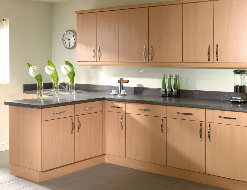 Trieste beech rixonway kitchens kitchen pinterest for Kitchen units on one wall