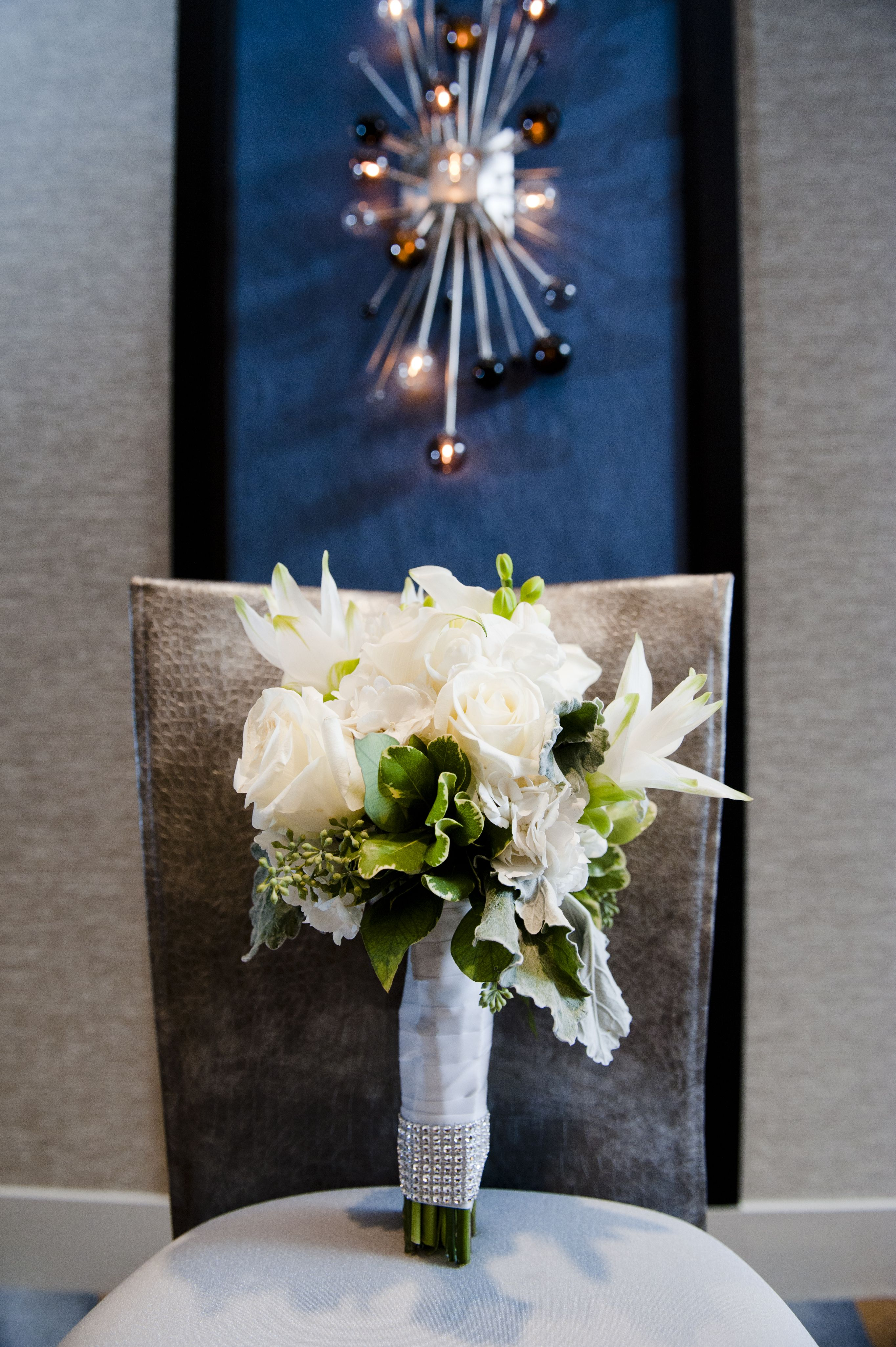 Beautiful Bridal bouquet!  Get your four complimentary tickets to one of our Luxury bridal Events at www.bridalexpotickets.com