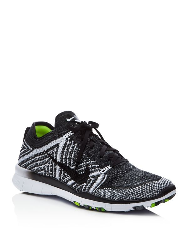 b96e69eca2b6 Nike Women s Free Flyknit Lace Up Sneakers