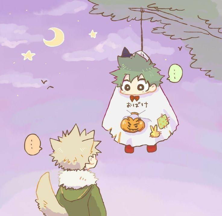 Katsudeku 8 Happy Halloween 2 Hero Hero Wallpaper Boku No Hero Academia