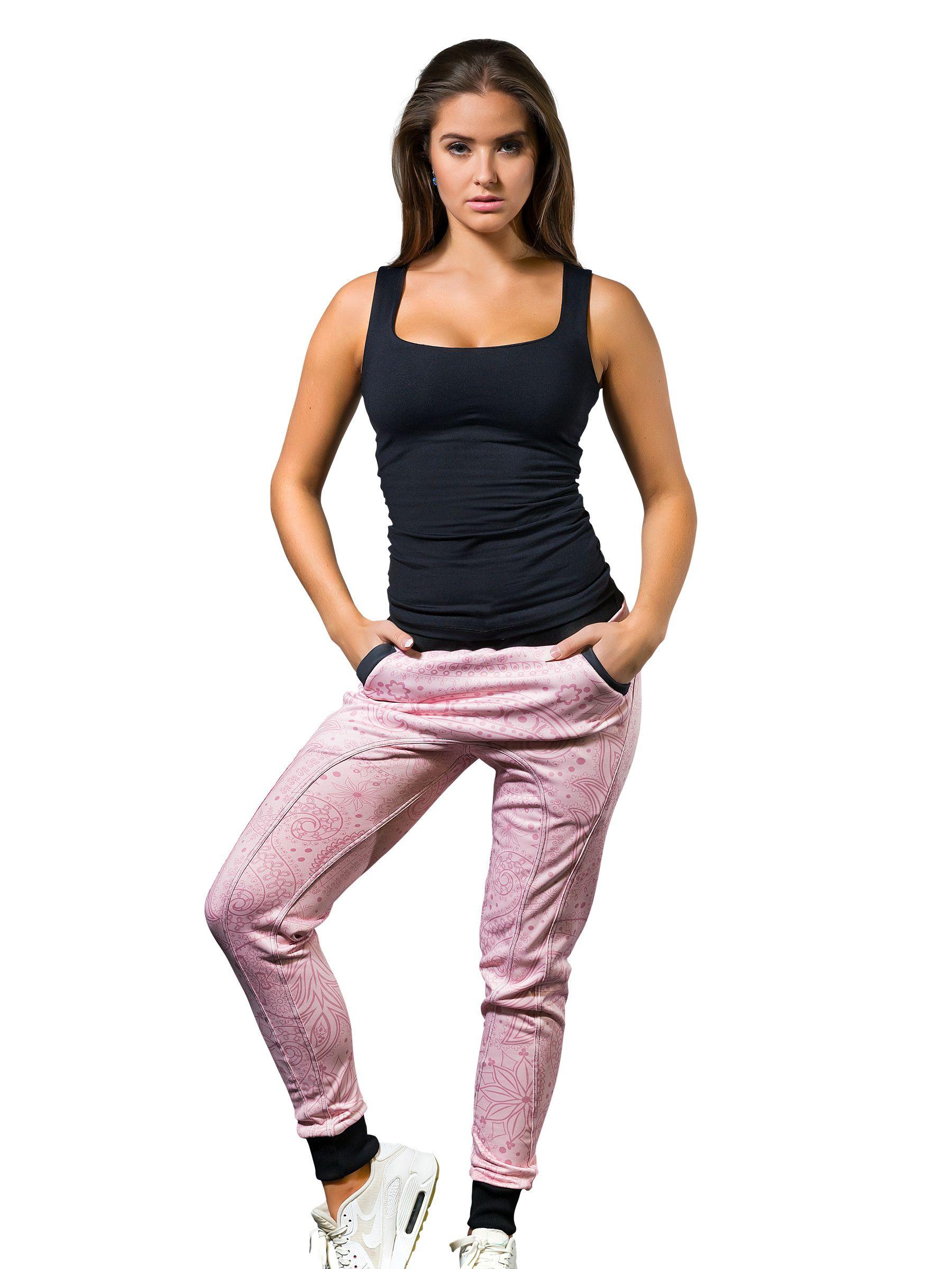 3d885084557 Sladký vzorovaný kalhot v šikézním pohodlném střihu. Hezčí už bejt nemůžou!