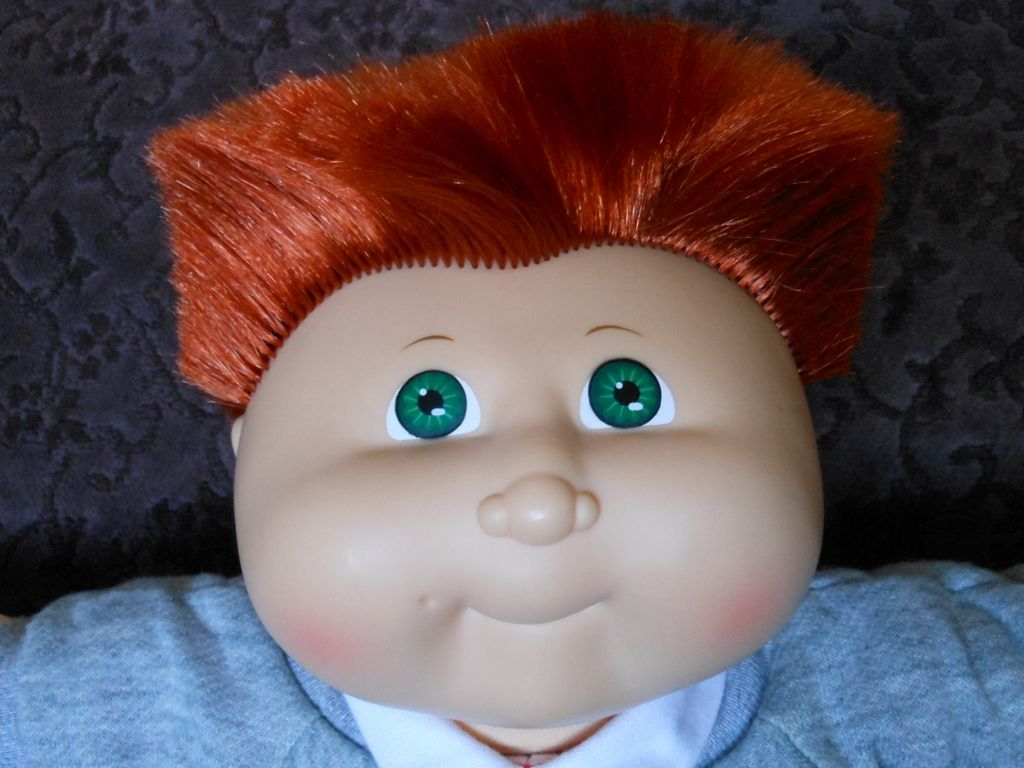 1986 Coleco Cabbage Patch Kids Boy With Flat Top Cornsilk Hair Cabbage Patch Kids Cabbage Patch Kids Boy Cabbage Patch