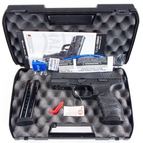 CDNN SPORTS - WALTHER CREED 9MM | Addicted To Guns