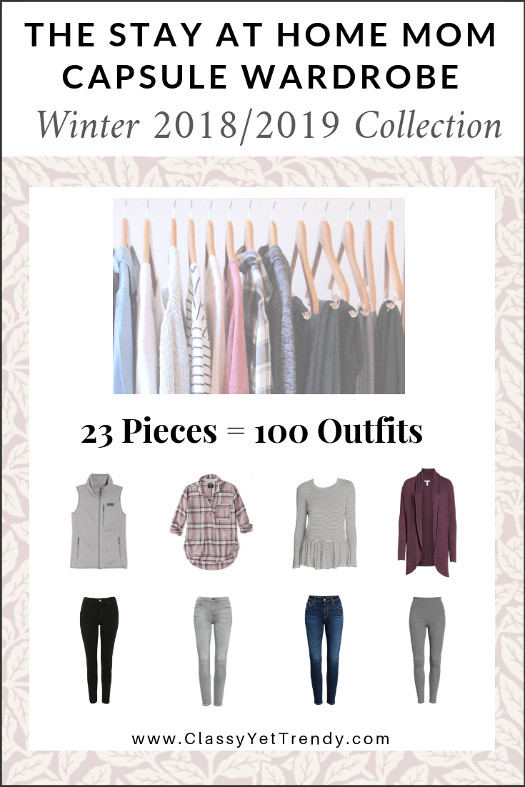 b49eee77f95e2 The Stay At Home Mom Capsule Wardrobe: Winter 2018/2019 Collection ...