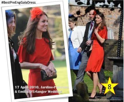 Bestpreenggaladress N 08 Kate Attended The Wedding Of David Jardine Paterson And Emilia D Erlanger April 2010
