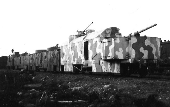 armored armored trains war cover story