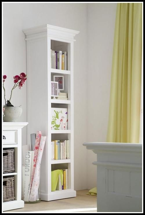 Most Popular Tags For This Image Include Narrow Bookshelf White Bookcases Tall Bookcase And Solid Wood