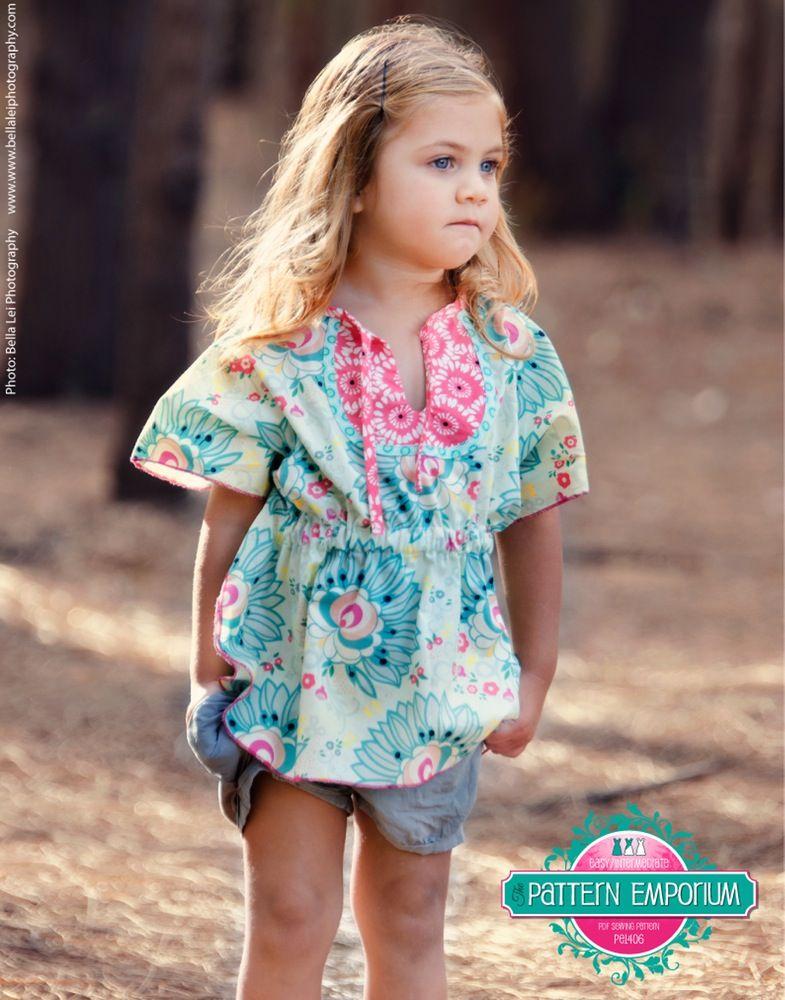 Kids Kaftan PDF Pattern | Pattern Emporium | Sewing | Pinterest