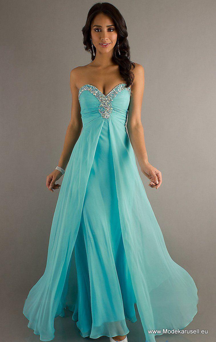 Ein Traum in türkis | Abendkleider / Prom Dress | Pinterest | Türkis ...