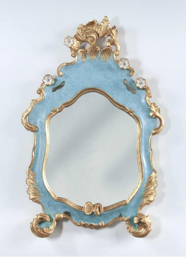 close up of Venezia Mirror | Carvers' Guild, 20x3, for desk.