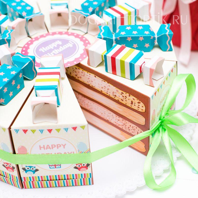 этом картинки торт из коробочек чтобы помещение сочеталось