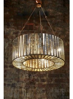 Whitney Glass Hanging Lamp - CHANDELIER - Emac & Lawton