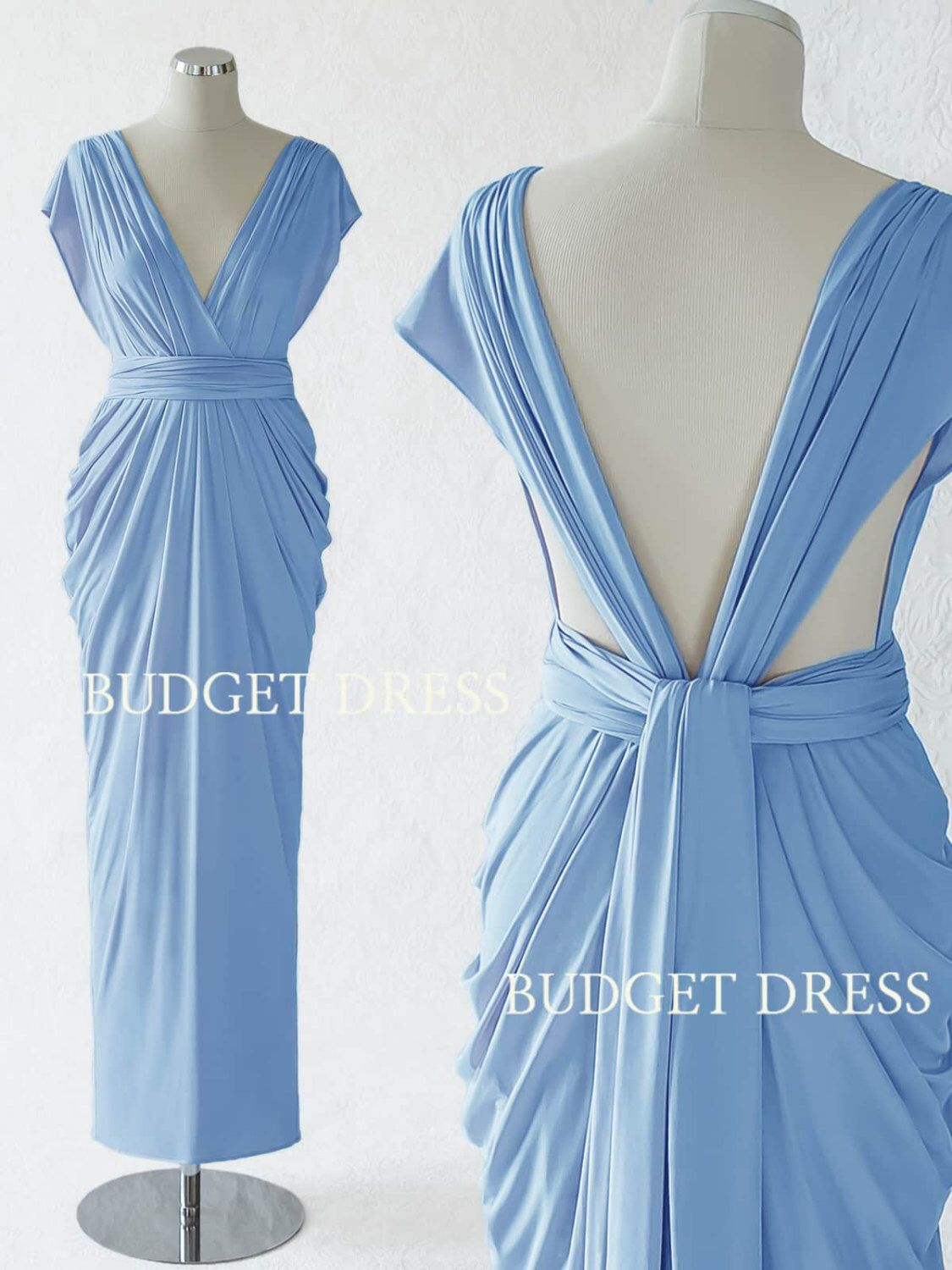 2017 new style cornflower blue convertible dress maxi convertible 2017 new style cornflower blue convertible dress maxi convertible bridesmaid dress multiway prom dress ombrellifo Image collections