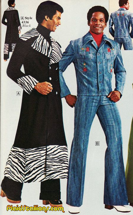 Brent and Brad practically invented Super Bad 70s fashion catalog insanity