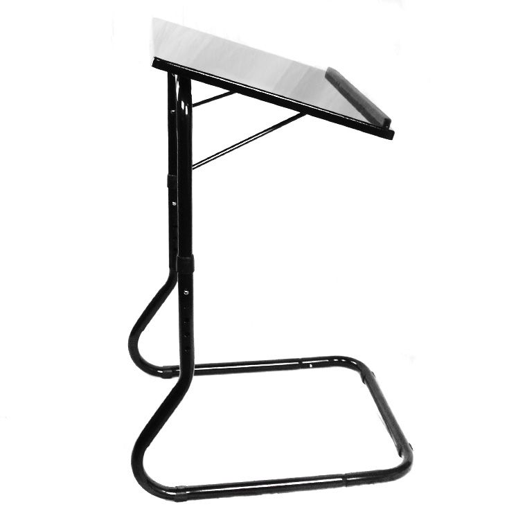 Charmant Deluxe Adjustable Height U0026 Tilt Slide Under Table Top TV Tray $19.99 And  Ships FREE!