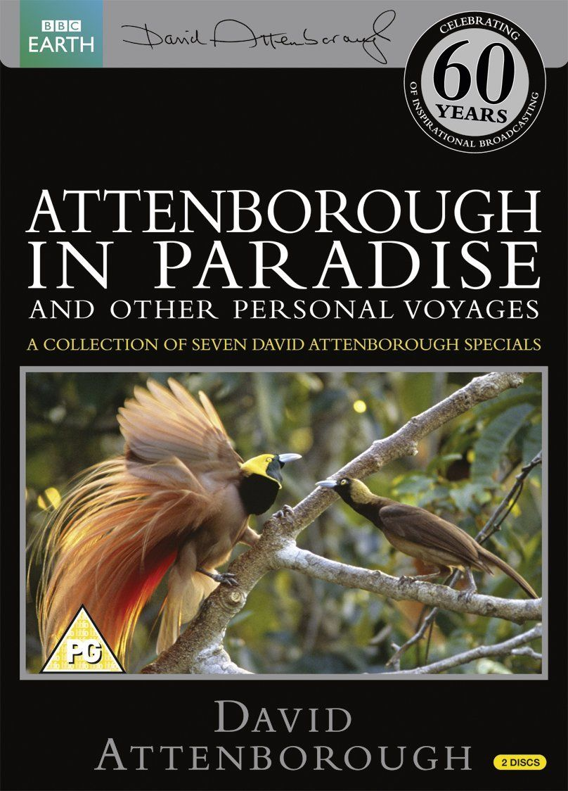 Attenborough in Paradise Repackaged Reino Unido DVD