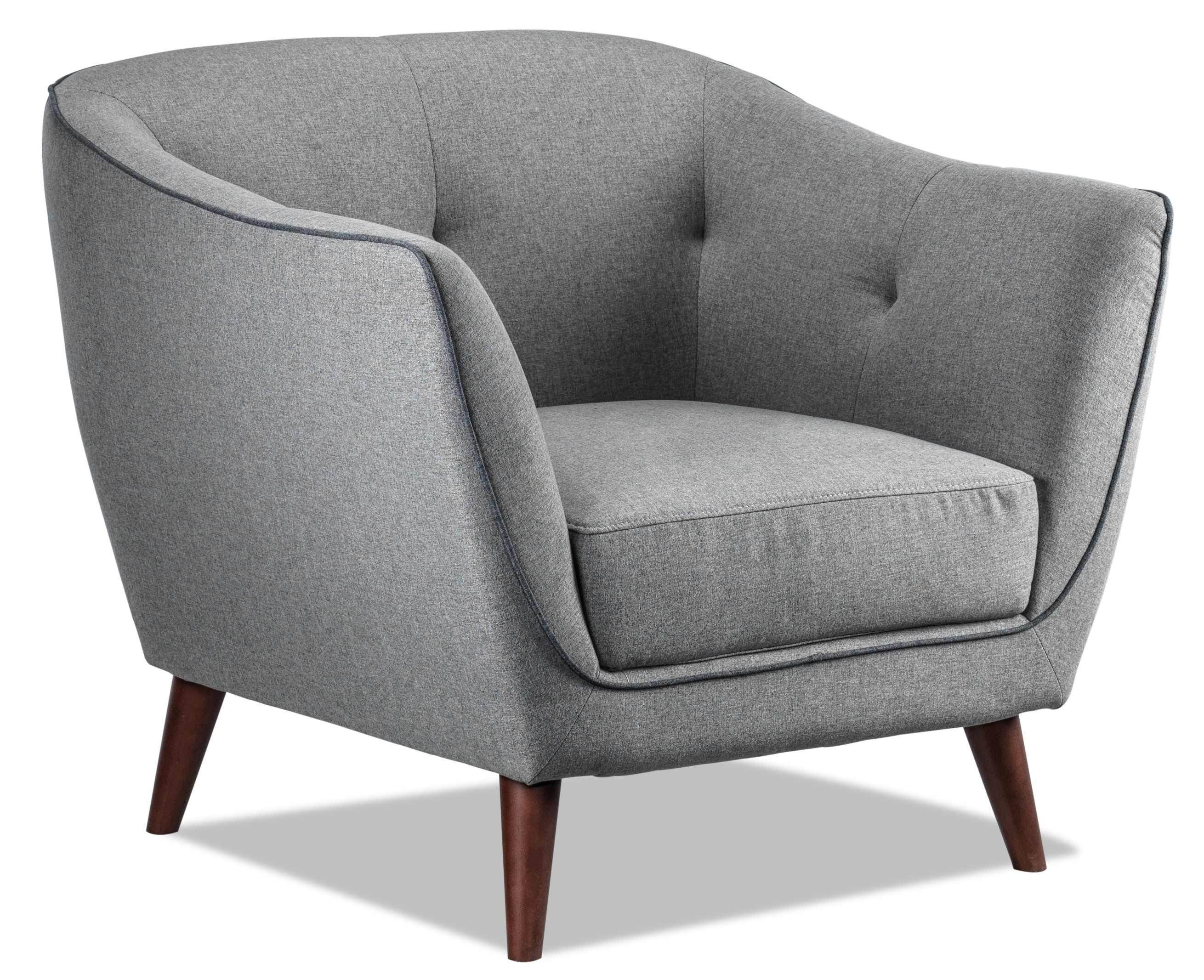 Ava Loveseat Light Grey In 2020 Accent Chairs For Living Room